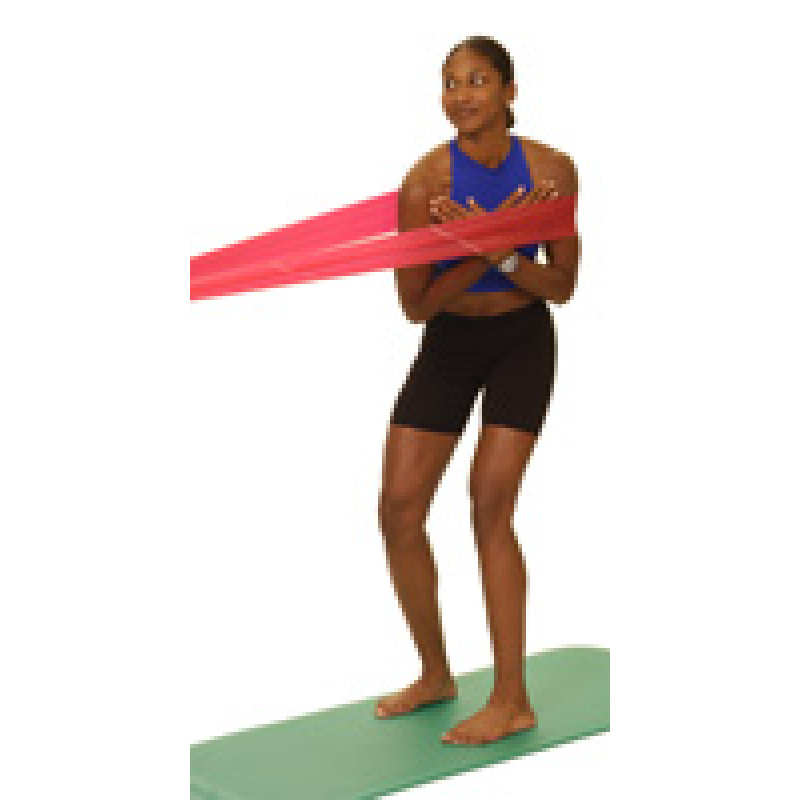Thera-Band Trunk Rotation in Standing