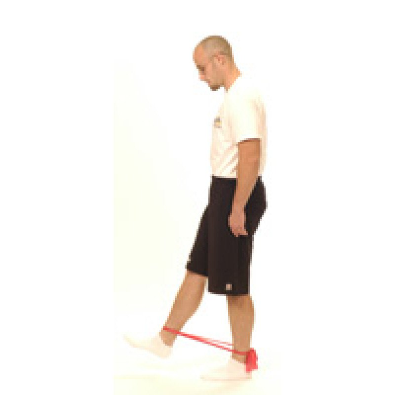 "Thera-Band Hip Flexion ""Quick Kick"""