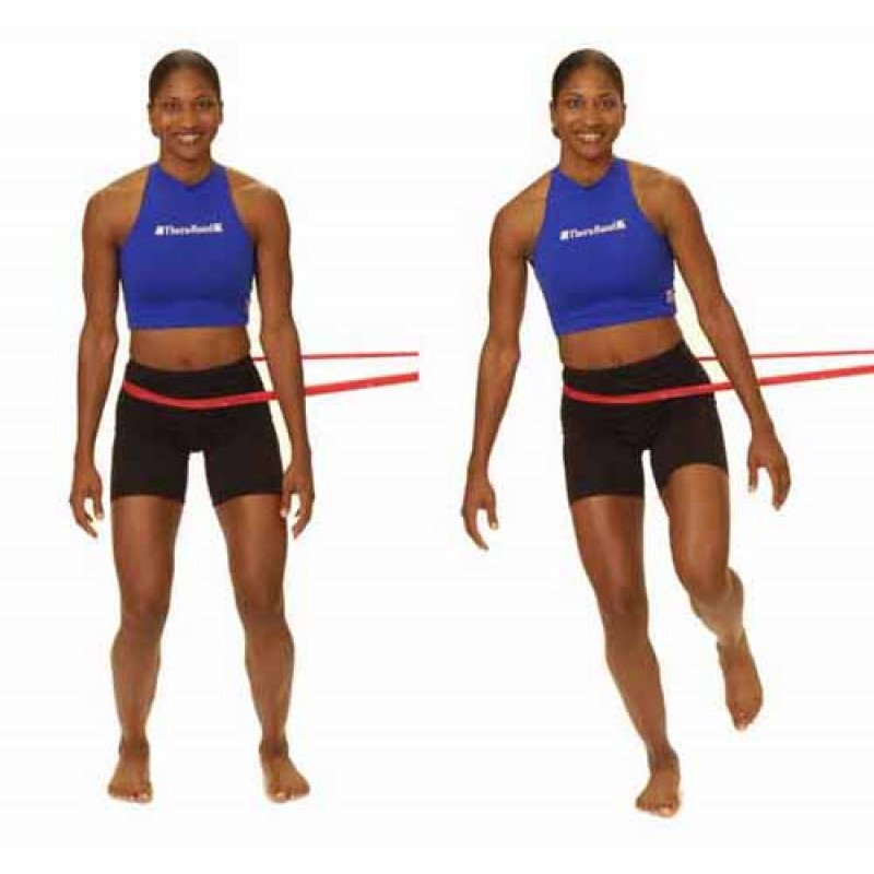 Thera-Band Knee Side Jump