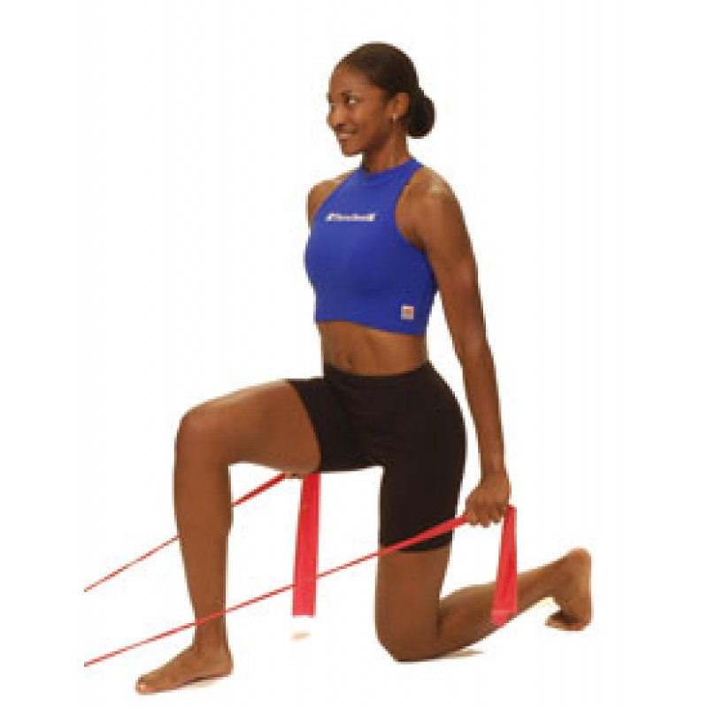 Thera-Band Shoulder Extension in Kneeling