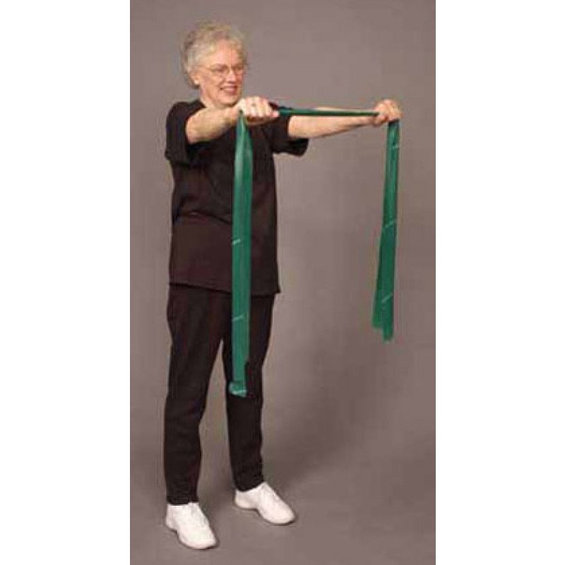 Thera-Band Shoulder Pull Back in Standing
