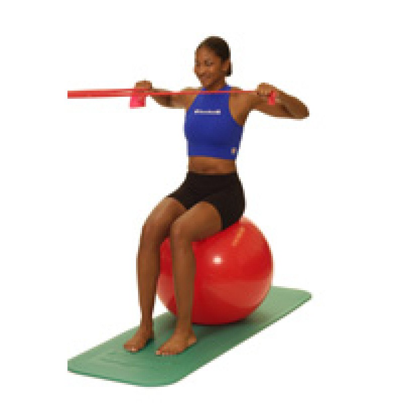 Thera-Band Shoulder Seated Row (High)
