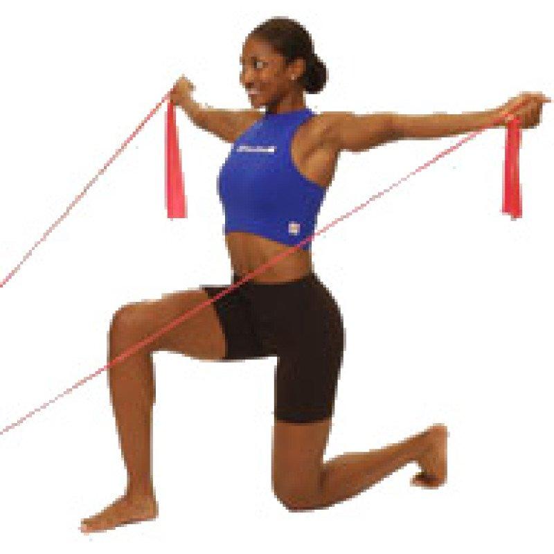 Thera-Band Shoulder Reverse Flies (kneeling)