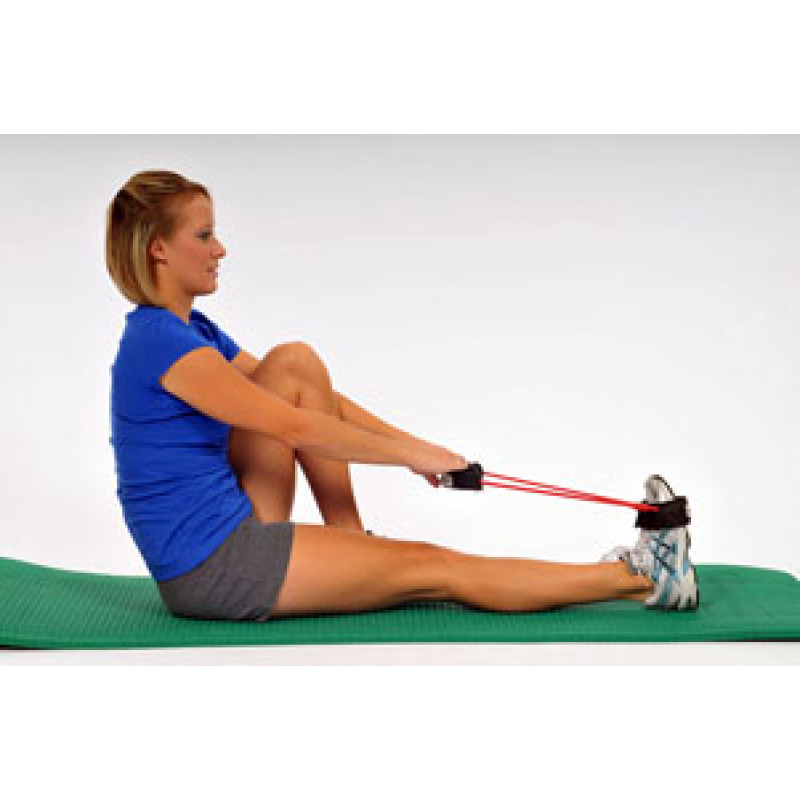 Thera-Band Tubing with Cuffs Achilles stretch