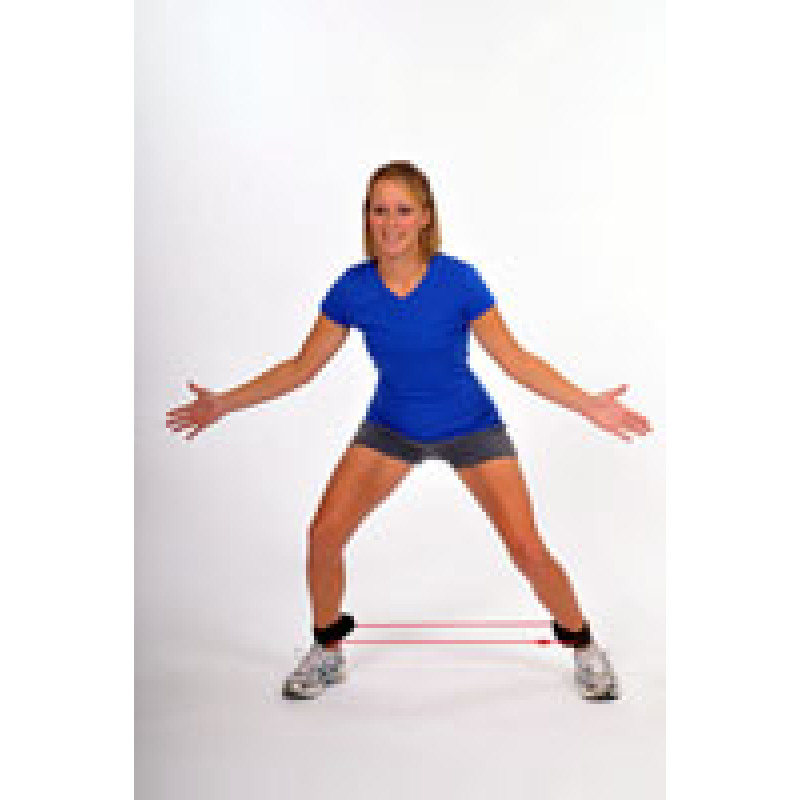 Thera-Band Tubing with Cuffs Monster Walk
