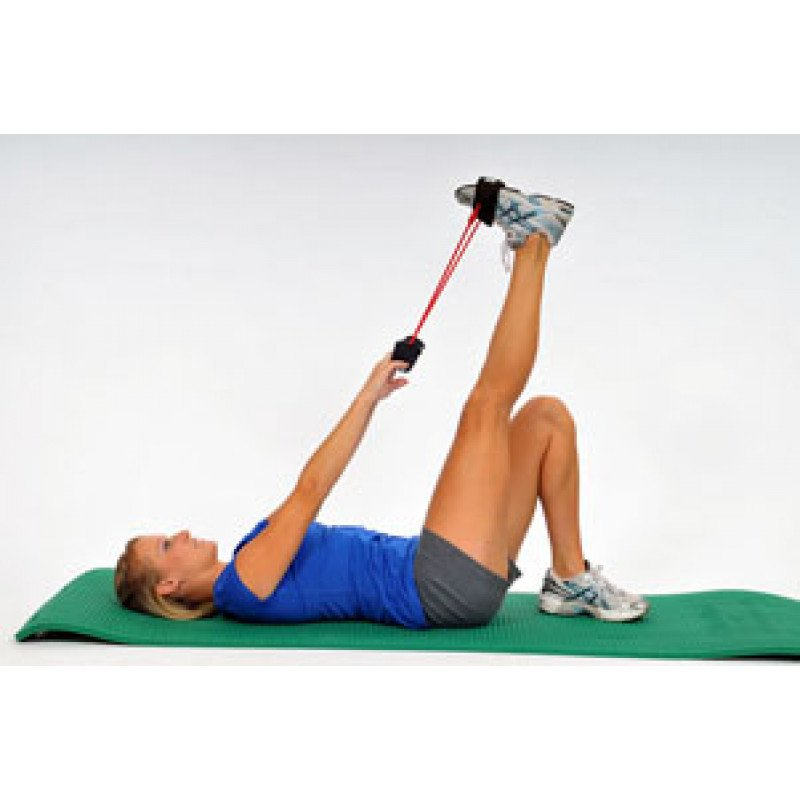 Thera-Band Tubing with Cuffs Hamstring Stretch