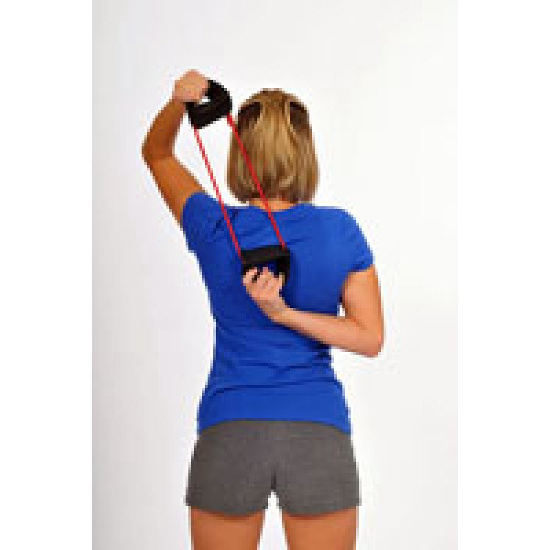 Thera-Band Tubing with Cuffs Shoulder Internal Rotation