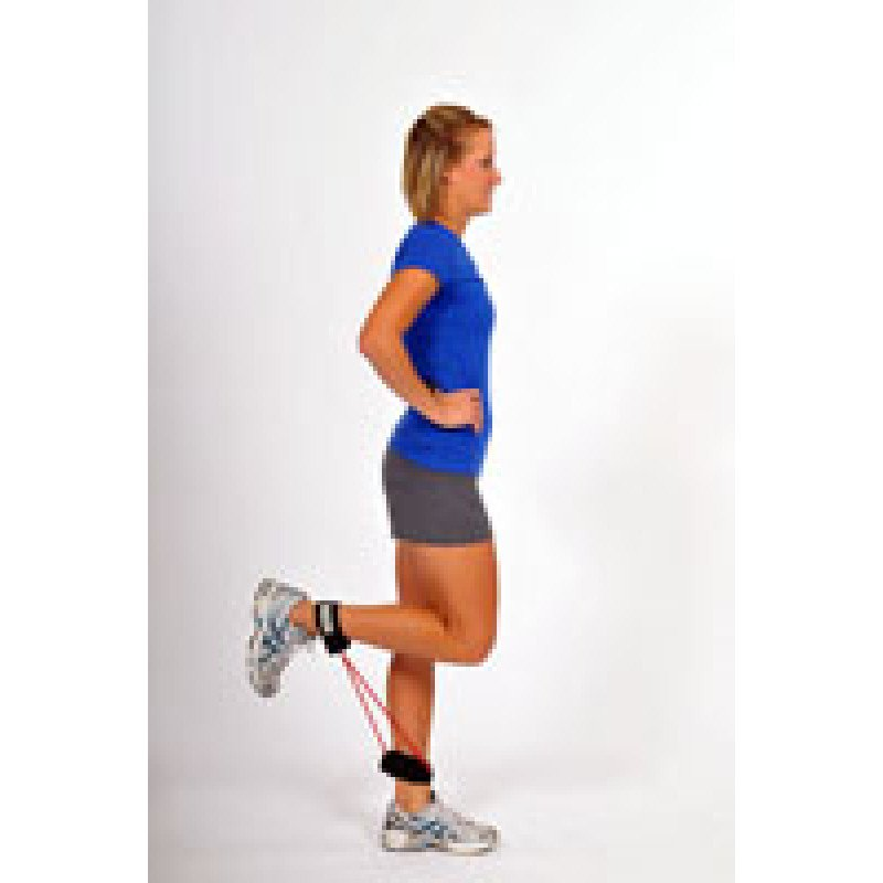 Thera-Band Tubing with Cuff Standing Hamstring Curl
