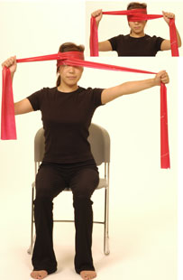 Thera Band Cervical Rotation Isometric Performance
