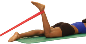 Thera-Band Knee Flexion (in prone) - Performance Health Academy