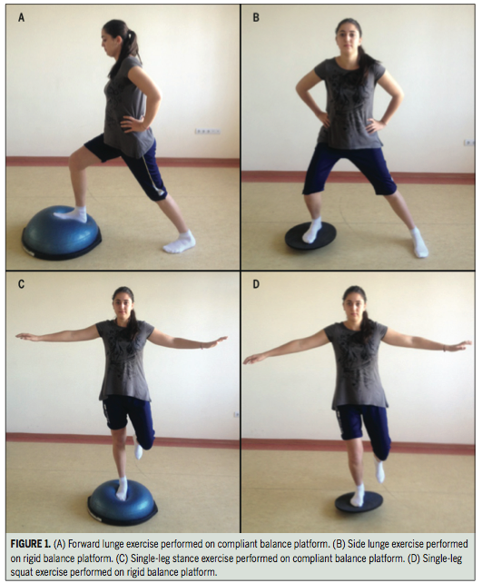 Balance Board Knee Stability: Ankle Muscle Activation During Exercises On Different