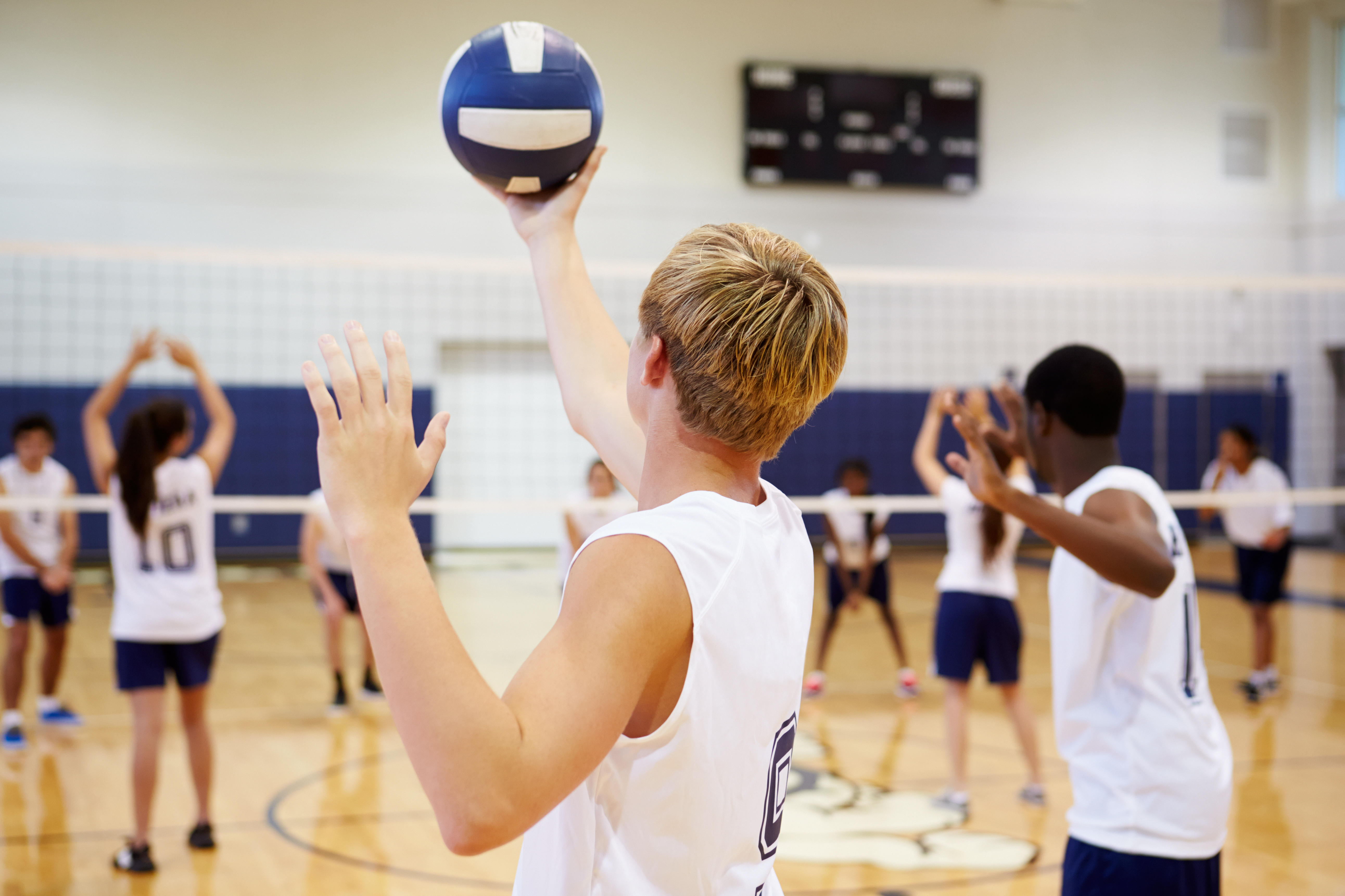 Shoulder Injuries in Volleyball